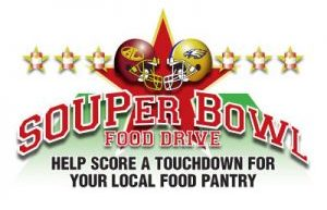 Souper Bowl Food Drive